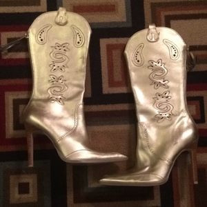 Xoxo High Heel Cowgirl Boots